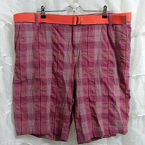 MERONA Plaid Bermuda Shorts L43
